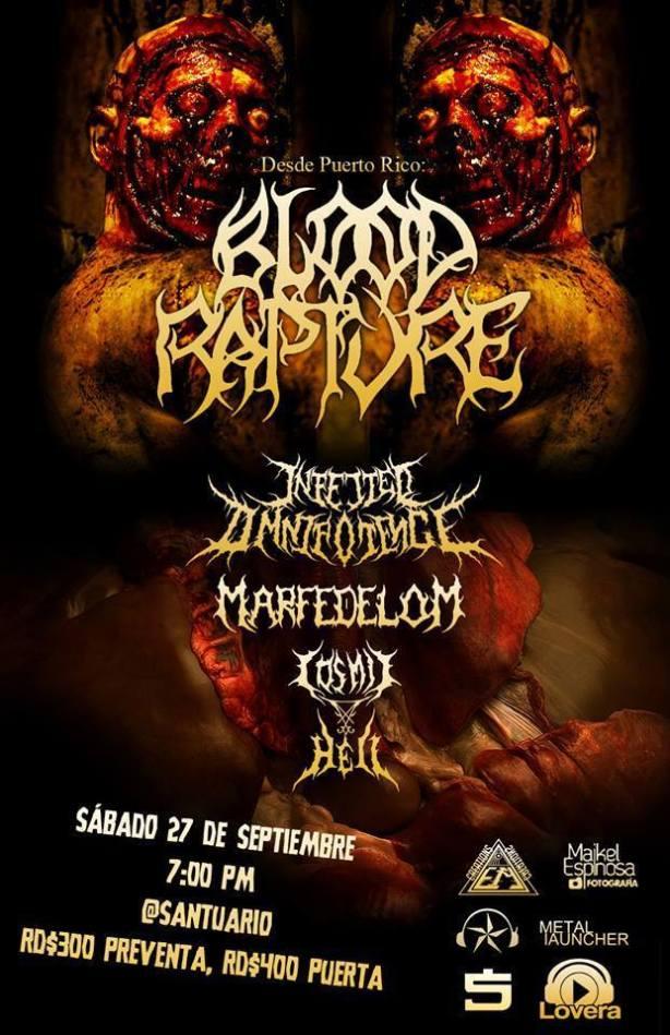 Blood Rapture - Santuario - 27 de Septiembre, 2014